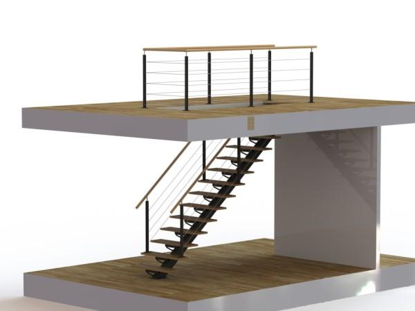escalier solidworks 2